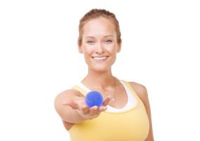 Håndtræningsbold