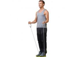 Træningselastik med håndtag - 1,3 meter
