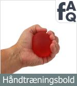 FAQ vedrørende Håndtræningsbolde
