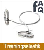 FAQ vedrørende træningselastikker