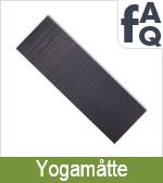 FAQ vedrørende Yogamåtter