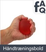 Spørgsmål vedrørende håndtræningsbolde
