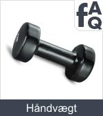 Spørgsmål vedrørende håndvægte