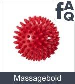 Spørgsmål vedrørende Massagebolde