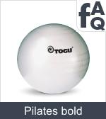 Spørgsmål vedrørende Pilates bolde
