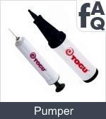 Spørgsmål vedrørende boldpumper og pumper til siddepuder