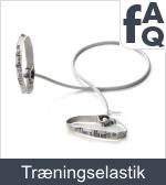 Spørgsmål vedrørende træningselastikker