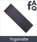 Spørgsmål vedrørende yogamåtter