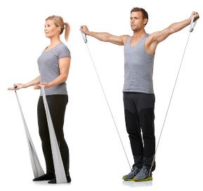 Gode træningsøvelser med elastikker