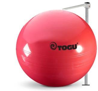 Sådan måler du højden på din siddebold