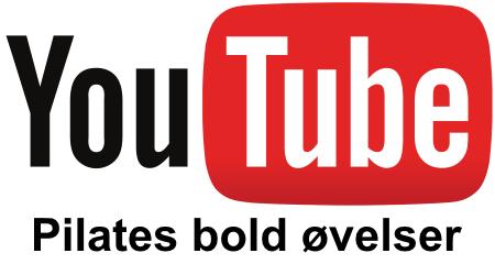 YouTube øvelser med Pilates bold