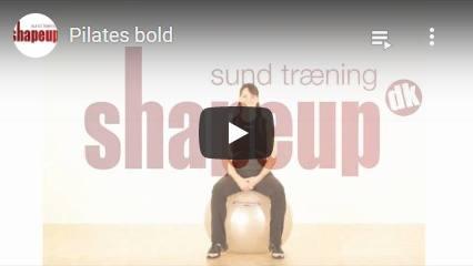 Se YouTube video om vores Pilates bolde