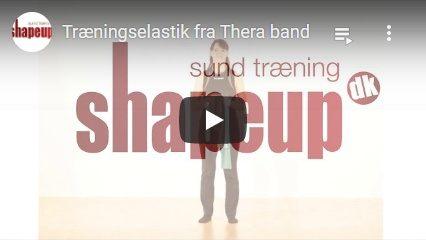 Se YouTube video om vores Thera Band elastikker