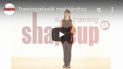 Se Youtube video om vores træningselastikker med håndtag