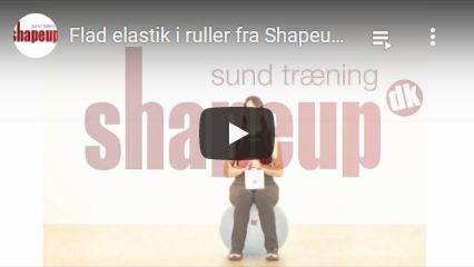 Se YouTube video om vores træningselastik rulle på 5,5 meter