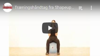 Se YouTube video om vores træningshåndtag til elastikker